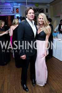 Dave Tafuri, Lauren Culbertson. Photo by Tony Powell. 2014 Bachelors and Spinsters Ball. City Tavern Club. April 11. 2014