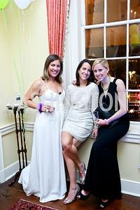 Tara Mahoney, Pamela Watson, Kathryn Phelps. Photo by Tony Powell. 2014 Bachelors and Spinsters Ball. City Tavern Club. April 11. 2014