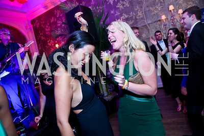 Cecilia Jen, Christina Nielsen. Photo by Tony Powell. 2014 Bachelors and Spinsters Ball. City Tavern Club. April 11. 2014