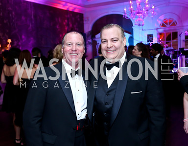 Ball Chairs Chris van Roijen, Chris Larsin. Photo by Tony Powell. 2014 Bachelors and Spinsters Ball. City Tavern Club. April 11. 2014