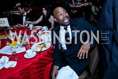 Director of the Office of Cable Television Eric Richardson. Photo by Tony Powell. 2014 Black Tie and Sneakers Gala. Grand Hyatt. March 19, 2014