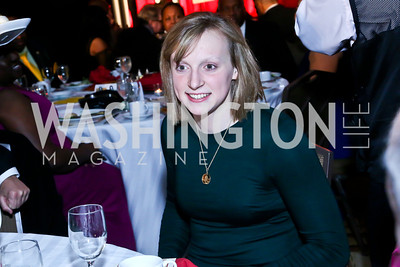 Olympic Champion Swimmer Honoree Katie Ledecky. Photo by Tony Powell. 2014 Black Tie and Sneakers Gala. Grand Hyatt. March 19, 2014