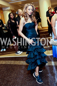Krystina White. Photo by Tony Powell. 2014 Black Tie and Sneakers Gala. Grand Hyatt. March 19, 2014