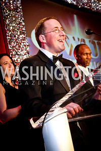 Greater Washington Urban League Board Chair Michael Akin. Photo by Tony Powell. 2014 Black Tie and Sneakers Gala. Grand Hyatt. March 19, 2014