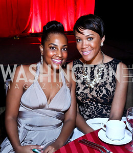 Victoria Lambert, Rahila Danjuma. Photo by Tony Powell. 2014 Black Tie and Sneakers Gala. Grand Hyatt. March 19, 2014