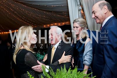 Jane Cafritz, Lloyd Hand, Sydney McNiff Johnson, Houda Farouki. Photo by Tony Powell. Cafritz Welcome Back from Summer. September 13, 2014