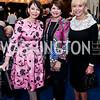 JoAnn Mason, Marlene Malek, Mary Ourisman. Photo by Tony Powell. Cafritz Welcome Back from Summer. September 13, 2014