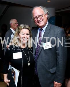 Linda and John Donovan. Photo by Tony Powell. Catalogue for Philanthropy Award Dinner. Harman Center. November 1, 2014