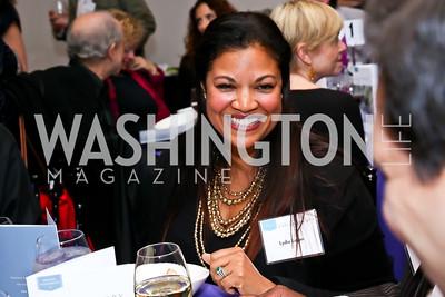 Lydia Logan. Photo by Tony Powell. Catalogue for Philanthropy Award Dinner. Harman Center. November 1, 2014