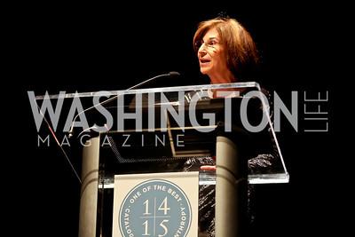 Barbara Harman. Photo by Tony Powell. Catalogue for Philanthropy Award Dinner. Harman Center. November 1, 2014