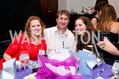 Allison and Brett Roper, Debbie Lynch. Photo by Tony Powell. Catalogue for Philanthropy Award Dinner. Harman Center. November 1, 2014