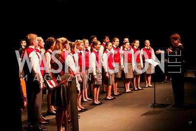 Children's Chorus of Washington. Photo by Tony Powell. Catalogue for Philanthropy Award Dinner. Harman Center. November 1, 2014