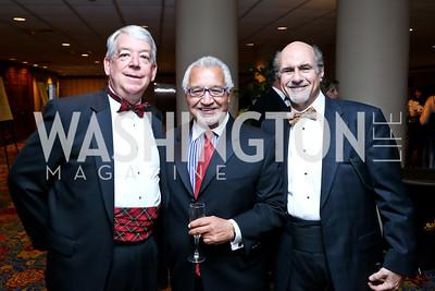 Paul Leleck, Joe Bruno, Anthony Cantalupo. Photo by Tony Powell. 2014 Catholic Charities Gala. Marriott Wardman Park. April 12, 2014