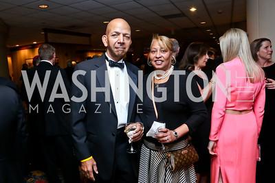 Tony and Diane Williams. Photo by Tony Powell. 2014 Catholic Charities Gala. Marriott Wardman Park. April 12, 2014
