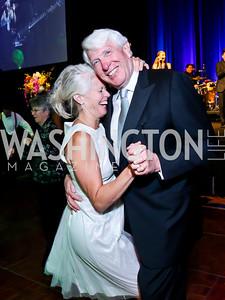 Susan and Michael Harreld. Photo by Tony Powell. 2014 Catholic Charities Gala. Marriott Wardman Park. April 12, 2014
