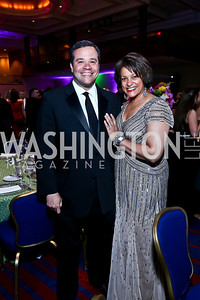 Ernie and Debbi Jarvis. Photo by Tony Powell. 2014 Catholic Charities Gala. Marriott Wardman Park. April 12, 2014
