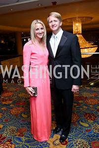 Carrie and David Marriott. Photo by Tony Powell. 2014 Catholic Charities Gala. Marriott Wardman Park. April 12, 2014