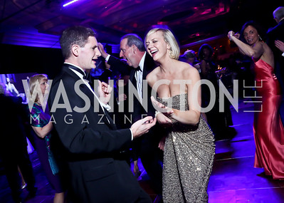 Colin Hartley, Lindsey Perdue. Photo by Tony Powell. 2014 Catholic Charities Gala. Marriott Wardman Park. April 12, 2014