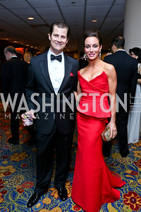 John and Kristin Cecchi. Photo by Tony Powell. 2014 Catholic Charities Gala. Marriott Wardman Park. April 12, 2014