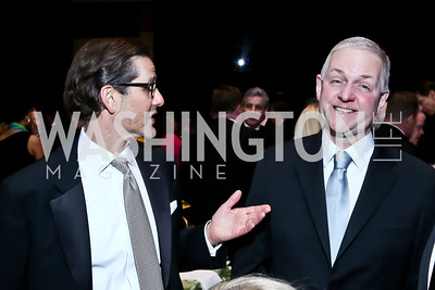 Davor Kapelina, Robert Trone. Photo by Tony Powell. 2014 Catholic Charities Gala. Marriott Wardman Park. April 12, 2014