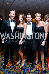 JB Deerin, Meghan Deerin, Patrick and Lisa O'Neil. Photo by Tony Powell. 2014 Catholic Charities Gala. Marriott Wardman Park. April 12, 2014