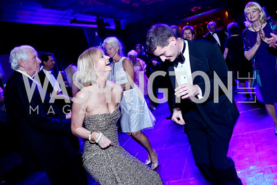Lindsey Perdue, Colin Hartley. Photo by Tony Powell. 2014 Catholic Charities Gala. Marriott Wardman Park. April 12, 2014