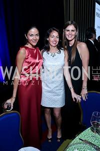 Carolina DeSouza, Kerry Troup, Mae Haney Grennan. Photo by Tony Powell. 2014 Catholic Charities Gala. Marriott Wardman Park. April 12, 2014
