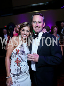 Karen and Chris Donatelli. Photo by Tony Powell. 2014 Catholic Charities Gala. Marriott Wardman Park. April 12, 2014