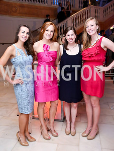 Amanda Davis, Micaela Mazzarella, Lindsay Ahearn, Elizabeth Robbins. Photo by Tony Powell. 2014 Musica y Suenos. Museum of Women in the Arts. May 9, 2014