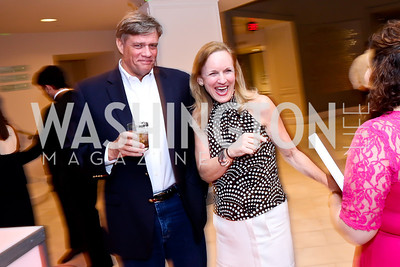 Dan McDonnell, Debbie Beard. Photo by Tony Powell. 2014 Musica y Suenos. Museum of Women in the Arts. May 9, 2014