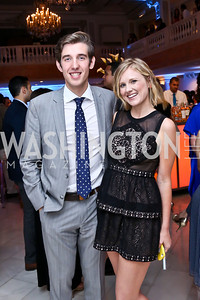 Event Chair Juan Pablo Segura, Emily Cerling. Photo by Tony Powell. 2014 Musica y Suenos. Museum of Women in the Arts. May 9, 2014