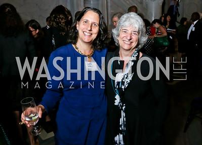 Beth Grupp, Kim Fellner. Photo by Tony Powell. 2014 Champions of Democracy Awards Gala. LOC. October 15, 2014