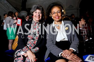 Carol Schwartz, Rep. Eleanor Holmes Norton. Photo by Tony Powell. 2014 Champions of Democracy Awards Gala. LOC. October 15, 2014