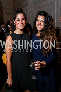 Maha and Dannia Hakki. Photo by Tony Powell. 2014 Champions of Democracy Awards Gala. LOC. October 15, 2014