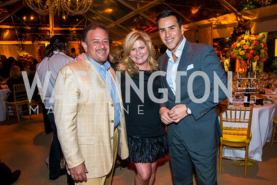 Raul Fernandez, Will Thomas. Photo by Tony Powell. 2014 CharityWorks 100 Point Wine Dinner. Ramsey Residence. May 31, 2014
