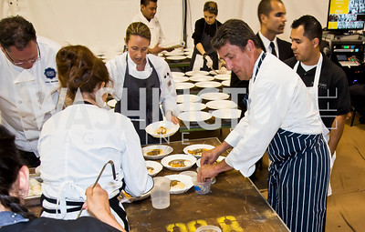 Photo by Tony Powell. 2014 CharityWorks 100 Point Wine Dinner. Ramsey Residence. May 31, 2014