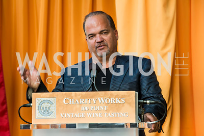 Fernando Murias. Photo by Tony Powell. 2014 CharityWorks 100 Point Wine Dinner. Ramsey Residence. May 31, 2014