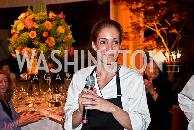 Jenn Crovato. Photo by Tony Powell. 2014 CharityWorks 100 Point Wine Dinner. Ramsey Residence. May 31, 2014