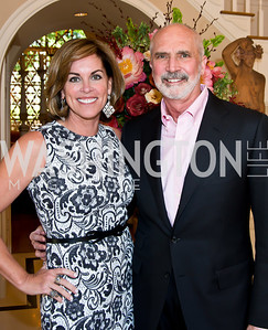 Charlotte and Bob Kettler. Photo by Tony Powell. 2014 CharityWorks 100 Point Wine Dinner. Ramsey Residence. May 31, 2014