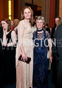 Margaret Ogden, Anne Keiser. Photo by Tony Powell. 2014 Choral Arts Gala. Kennedy Center. December 15, 2014