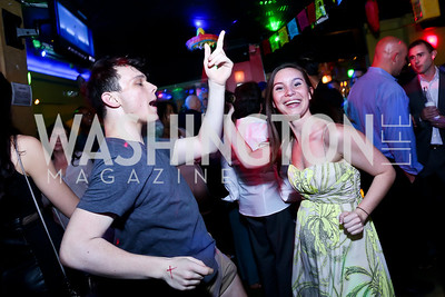 "Matthew McLaughlin, Megan Piluk. Photo by Tony Powell. CityDance ""Dreamscape"" Gala. Alero. May 10, 2014"