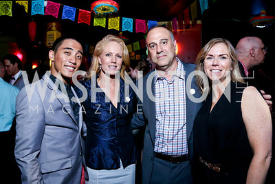 "Kevin Pajarillaga, Alexe Nowakowski, Donnie and Jill Gross. Photo by Tony Powell. CityDance ""Dreamscape"" Gala. Alero. May 10, 2014"