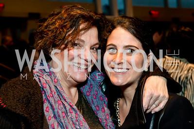 Sara Rosen, Rachael Rosen. Photo by Tony Powell. 2014 Duke Ellington School Benefit Concert. Strathmore Hall. March 12, 2014