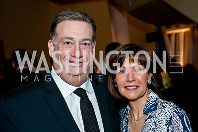 Alan and Roxanne Gottlieb. Photo by Tony Powell. 2014 Duke Ellington School Benefit Concert. Strathmore Hall. March 12, 2014