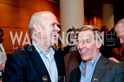Patrick Lyden, Chuck Holzwarth. Photo by Tony Powell. 2014 Duke Ellington School Benefit Concert. Strathmore Hall. March 12, 2014