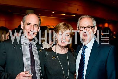Mark Srere, Ann and Rick Pasco. Photo by Tony Powell. 2014 Duke Ellington School Benefit Concert. Strathmore Hall. March 12, 2014