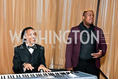 Julian Spires, Roy Patten II. Photo by Tony Powell. 2014 Duke Ellington School Benefit Concert. Strathmore Hall. March 12, 2014