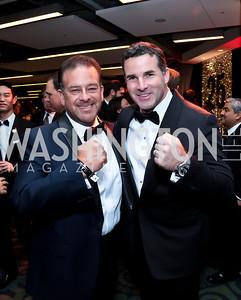 Raul Fernandez, Kevin Plank. Photo by Tony Powell. 2014 Fight Night. Hilton Hotel. November 13, 2014