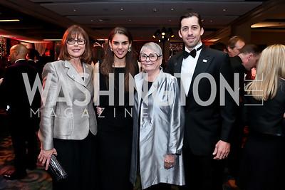 Christine Robert, Elizabeth Robert, Aimee Robert, Joe Robert III. Photo by Tony Powell. 2014 Fight Night. Hilton Hotel. November 13, 2014