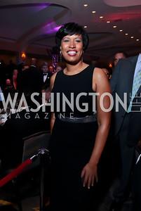 DC Mayor Elect Muriel Bowser. Photo by Tony Powell. 2014 Fight Night. Hilton Hotel. November 13, 2014